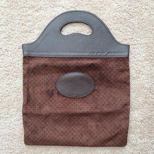 Rare Suede Vintage Gucci Shopper Tote Handbag